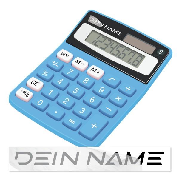 Namenssticker für Taschenrechner Taschenrechner Namenssticker - Kategorie Shop
