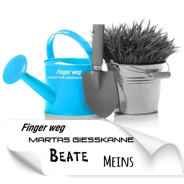 Namenssticker für Gartengeräte Gartengeräte Namensaufkleber - Kategorie Shop