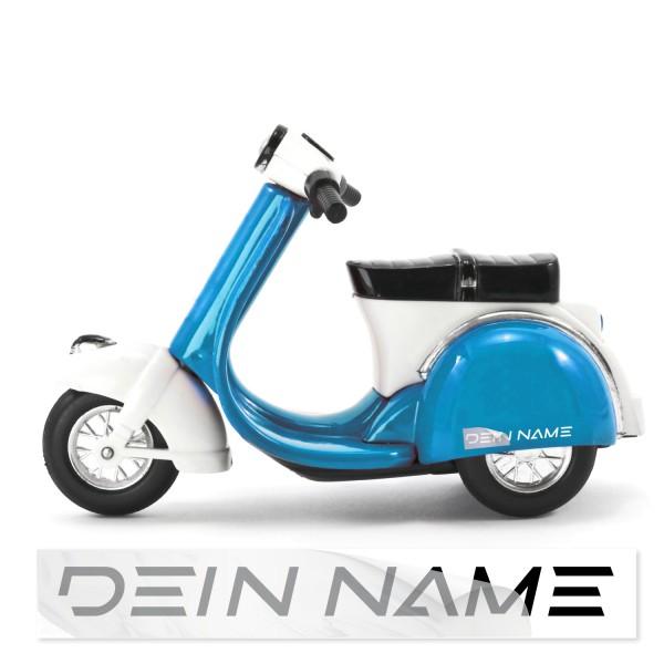 Namens Aufkleber für Motorroller Namensaufkleber Motorroller - Kategorie Shop