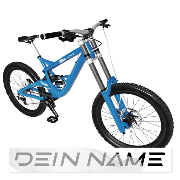 Namensaufkleber Fahrrad Namensaufkleber Fahrrad - Kategorie Shop
