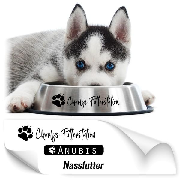 Namensaufkleber für Tiernäpfe Hundenapf Namensaufkleber - Kategorie Shop